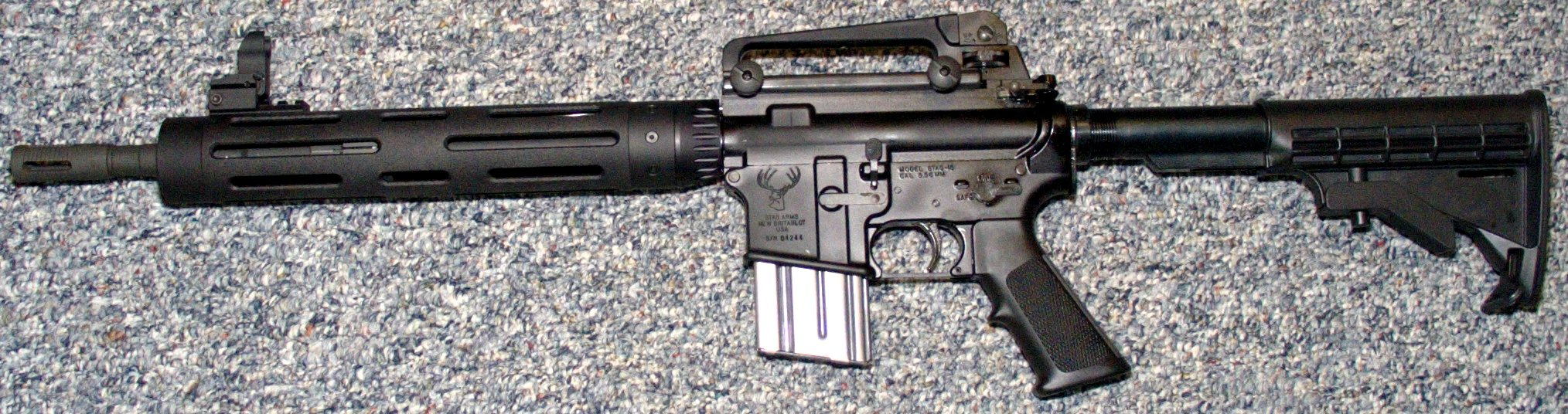AR15 completely assembled  Ar15