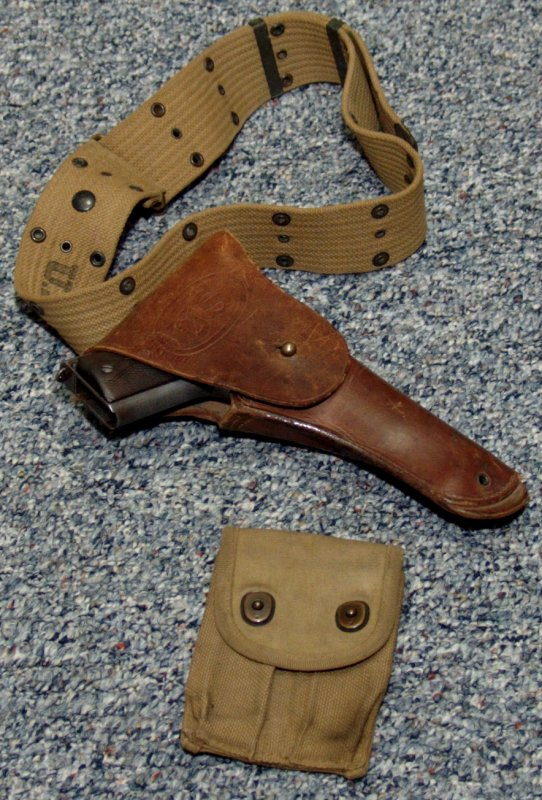 holster 1911 holsters colt wwi carry issue